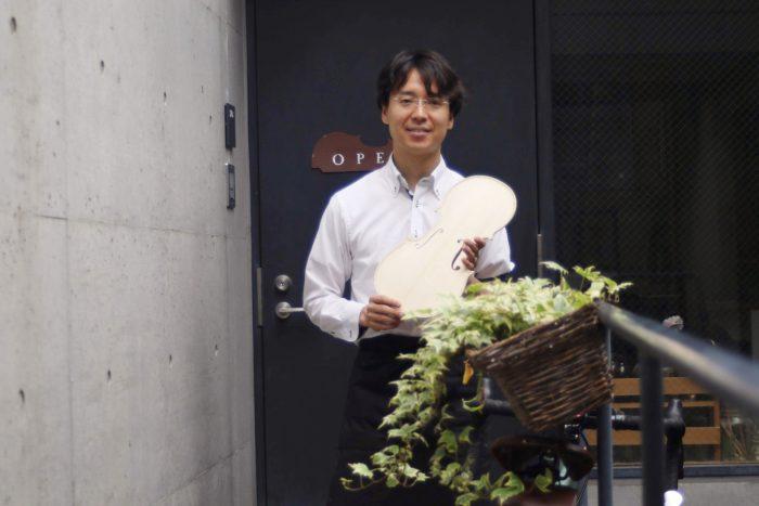 大樹バイオリン工房の藤井大樹さん
