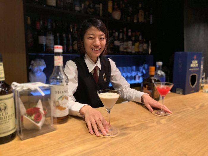 Bar Moray 女性バーテンダーの近藤沙織さん